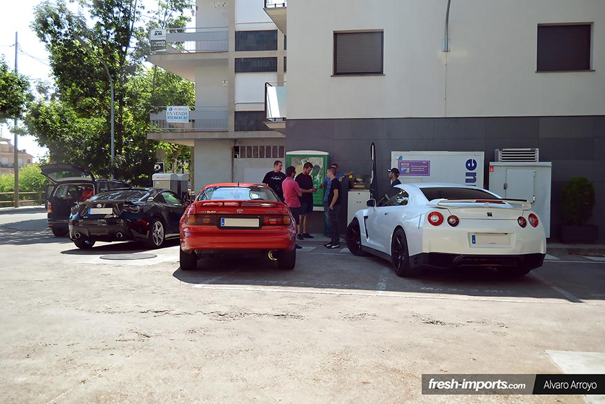 Club-GT-Four-Spain-Mai-Supreme-meet-2015-Fuel-Station